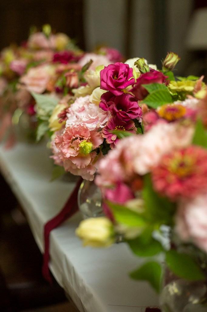 Piggly Petals bridesmaids bouquets