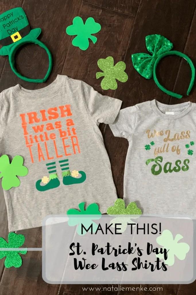 Irish I was a Little Bit Taller custom St. Patrick's Day shirt