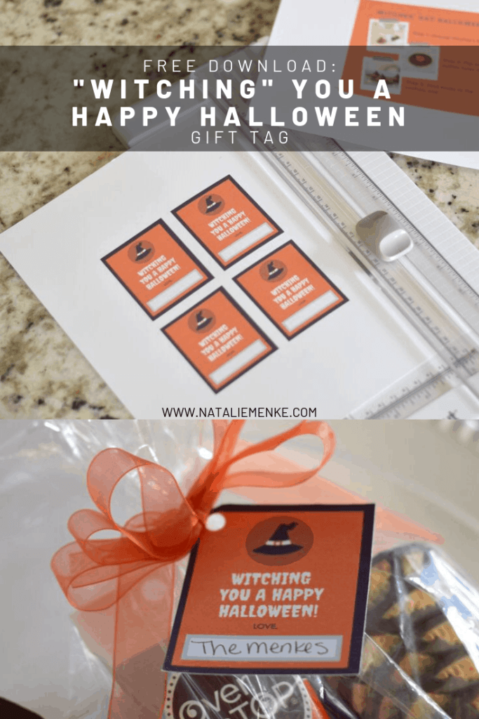 Witches' Hat Halloween Cookie Goody Bags