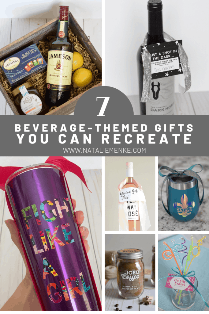 7 beverage-themed gifts you can recreate at www.nataliemenke.com