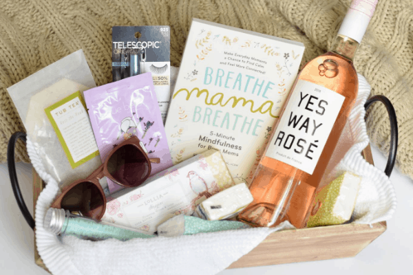 Relaxation Gift Basket for Mom on the 1st Day of School (or any day)