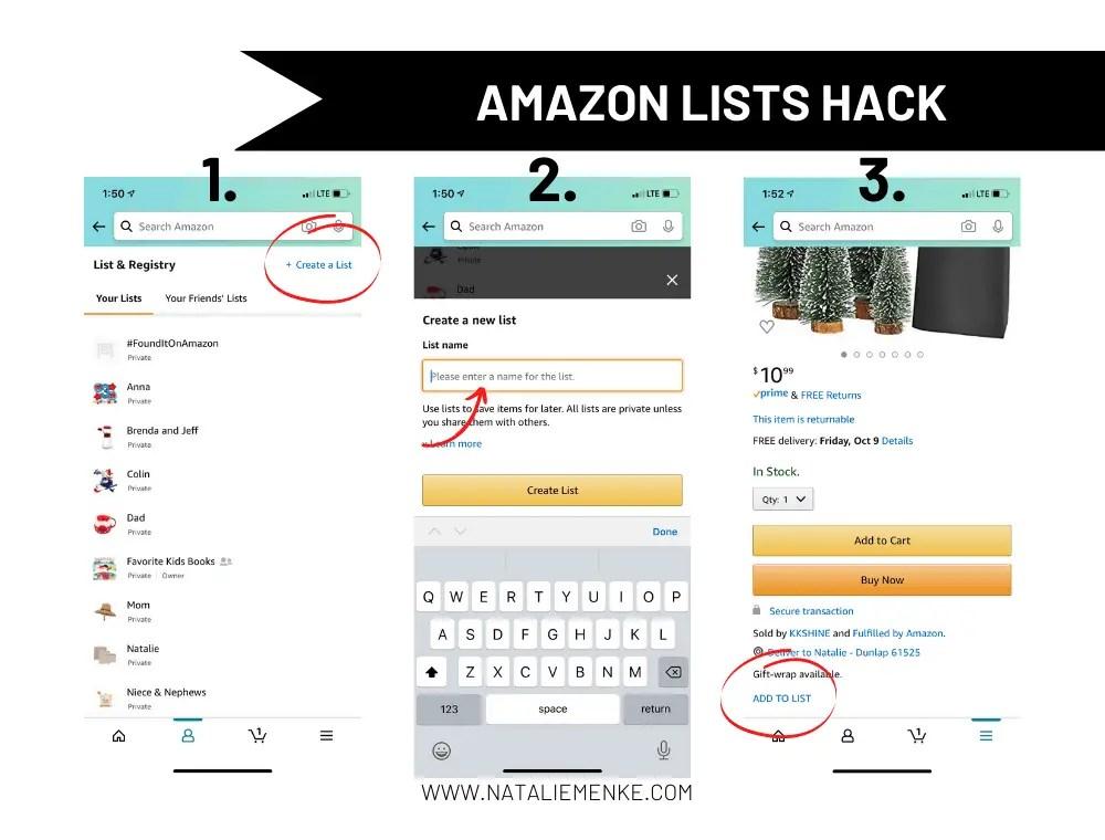 Amazon Lists Hack