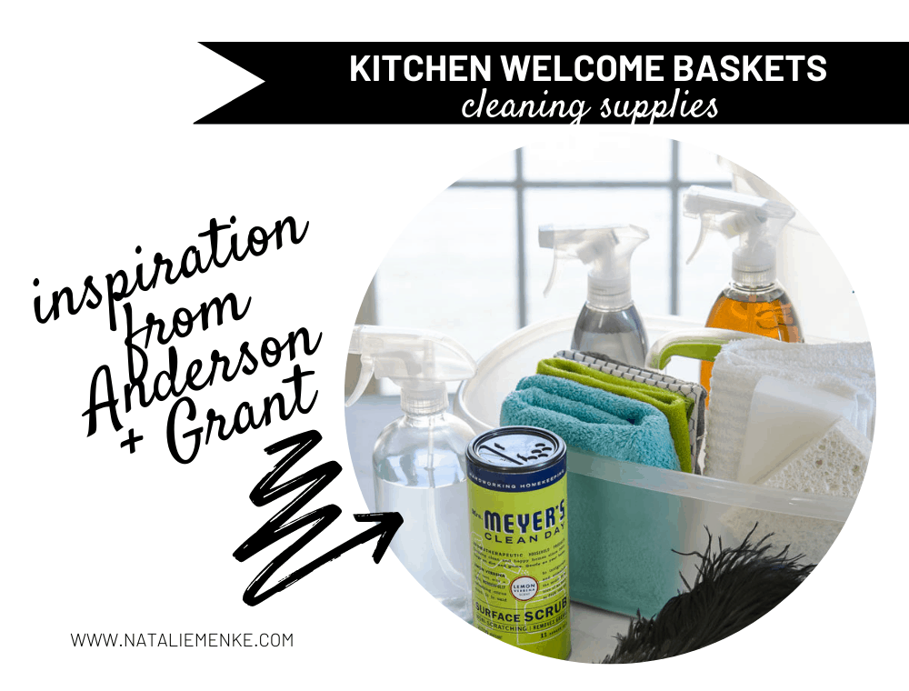 kitchen welcome baskets for guests