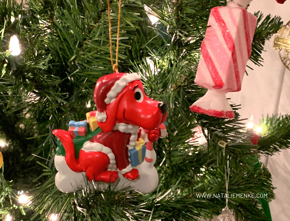 Clifford the Big Red Dog Christmas Ornament