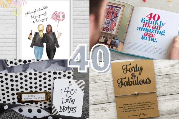Easy & Creative 40th Birthday Gift Ideas for Women
