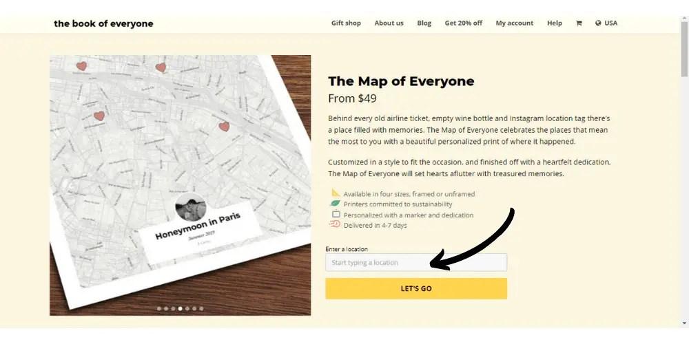 The Map of Everyone screenshot