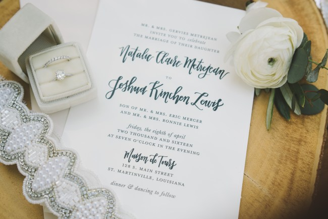 Handlettered Wedding Invitation Suite by Prairie Letter