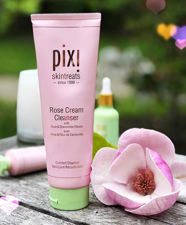 pixi rose cream cleanser review