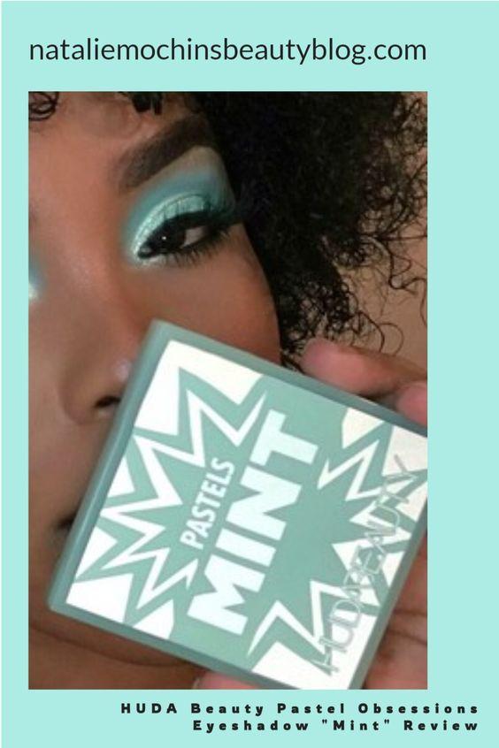 HUDA beauty mint palette