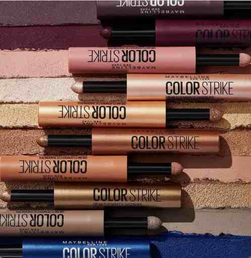 maybelline color strike colors