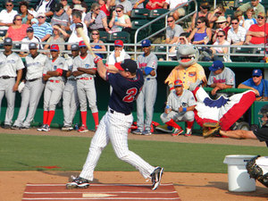 Chris Parmelee, Champion of the HR Derby!