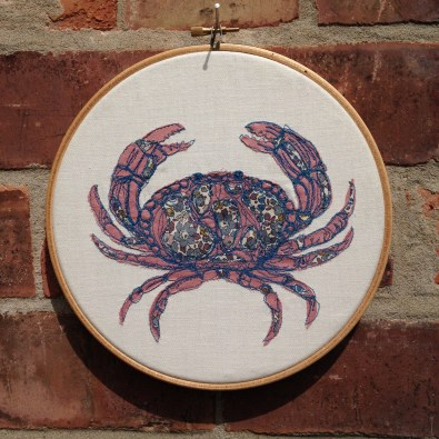 Freehand Machine Embroidery, Embroidery Hoop, Hipster Hoop, Wall Art, Wall Hanging