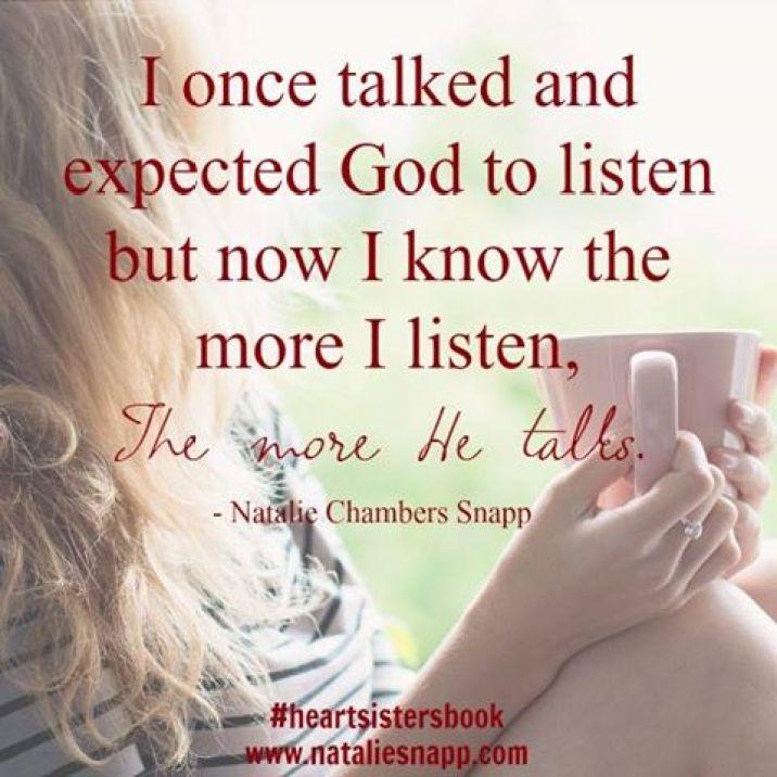 The more I listen