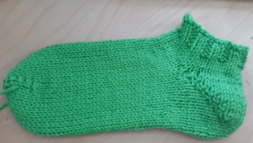 completed sock