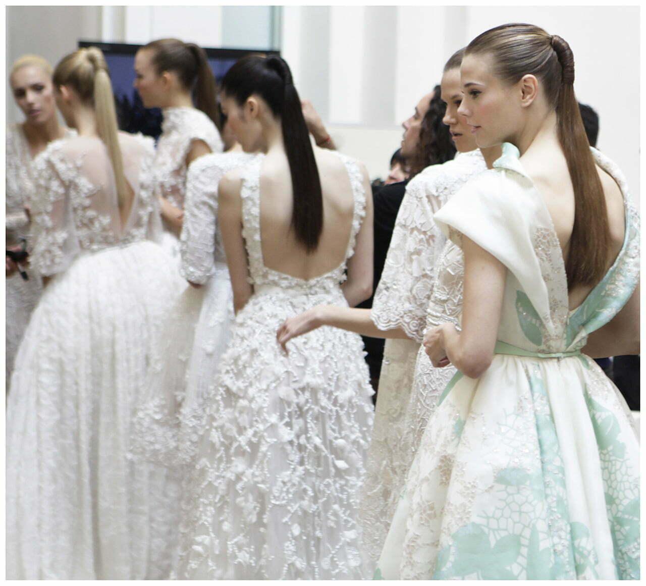 Elie Saab vakarinės ir vestuvinės suknelės