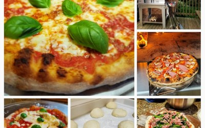 Direct pizza dough with a long ferment… for Dummies*! (easy recipe!)