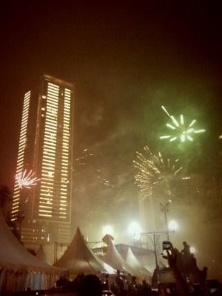 Happy New Year! Yes it was full of smoke.. gun smoke.