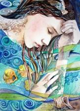 Ocean Dream. Watercolor, paper