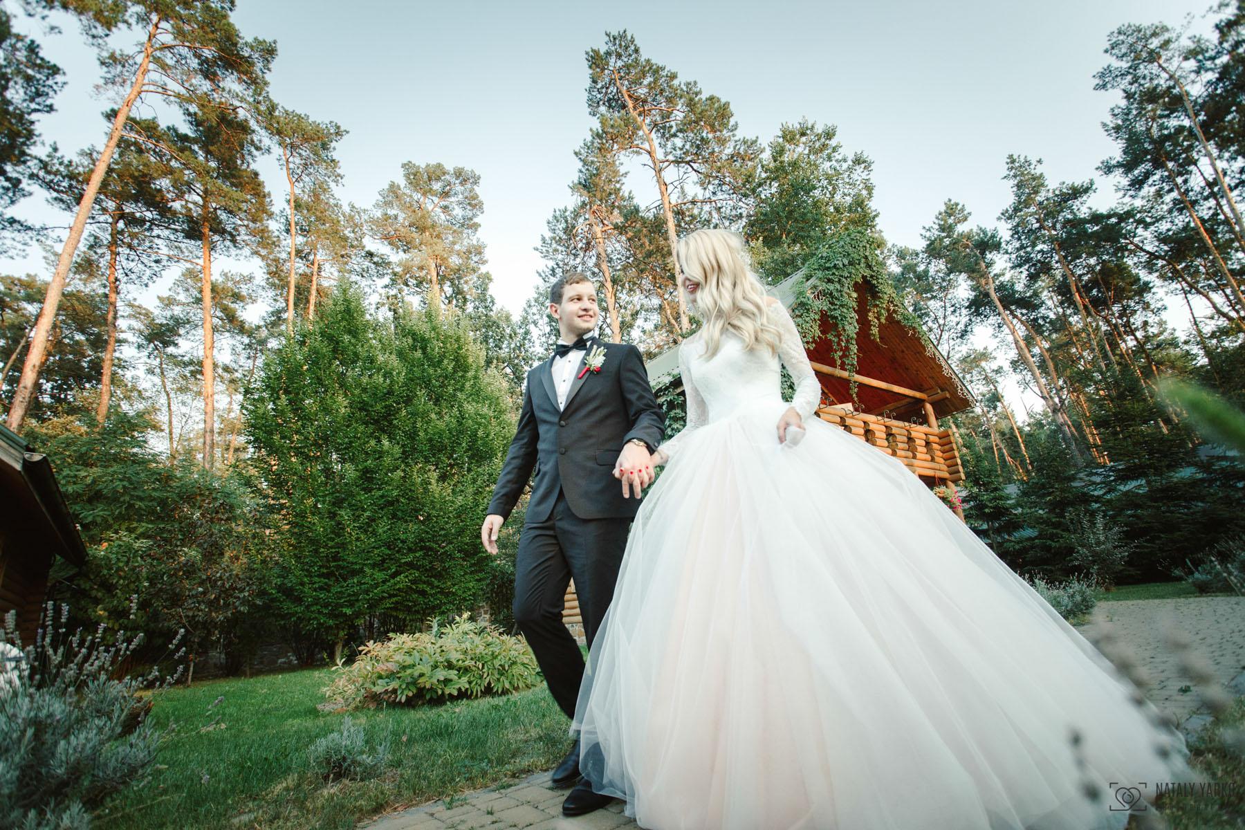 Свадебное портфолио, широкий угол, свадебный фишай