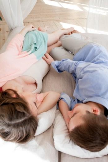 Марина и Олег Фотосессия беременности