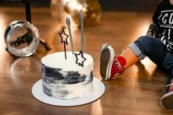 Фотосъемка - Первый тортик Cake Smash в рок стиле