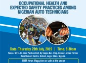 Second Annual NATA News Road Safety Awareness Conference & Usage of Genuine Engine Oil Advocacy  Organised by: Automobiles And Road Safety Initiative  Venue: Indoor Sports Pavilion, NITEL Complex, Along Agege Motor Road, Cappa Bus-Stop, Oshodi, Lagos State, Nigeria  Date: Thursday 25th July, 2019