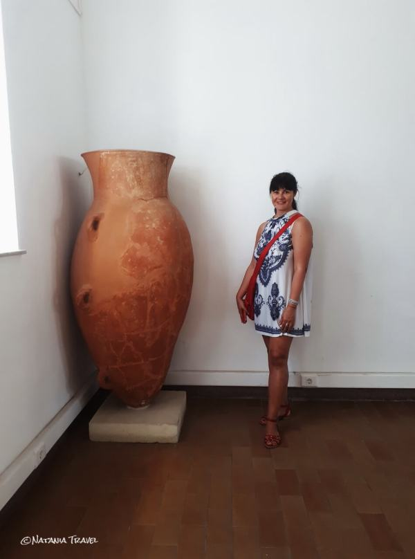 Ancient pottery, Samos Archeological Museum