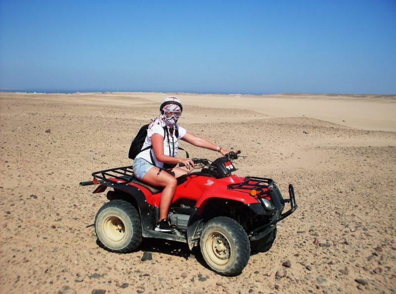 Quad bike, Desert safari Hurghada