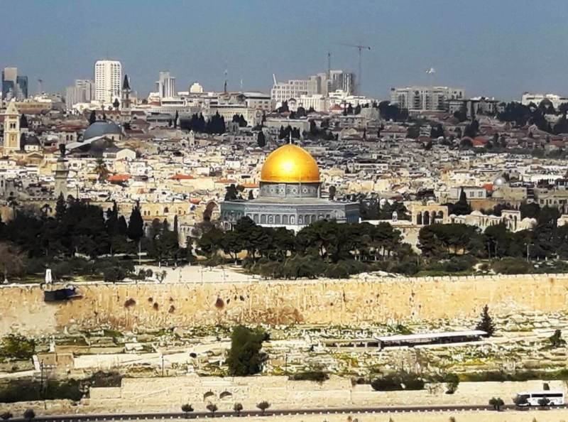 The Dome of the Rock, Jerusalem, Jerusalim, Kupola na steni