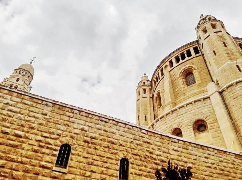 Dormition Abbey, Mount Zion
