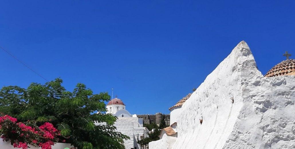 Patmos Chora and St John monastery