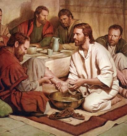 Durante a Ceia Jesus mostrou a verdadeira liderança divina