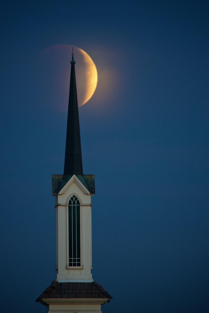 Lunar eclipse/Super Moon 2015