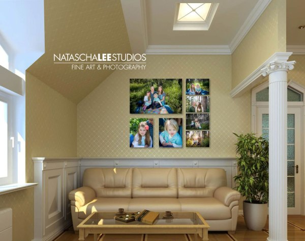 Family Canvas Wall Display Ideas