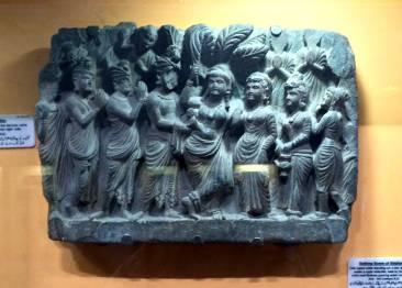peshwarmuseum-birthofbuddha