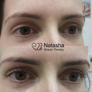 Yumi lashes perm lifts and curls the lashes