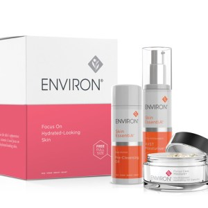 skincare set environ in a box
