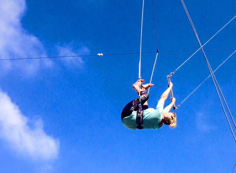 Facing Fear With the Greatest of Ease: Why Flying Trapeze Lessons Are Harder Than They Look
