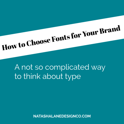 How to choose fonts for your brand
