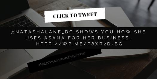 Asana -Click to tweet