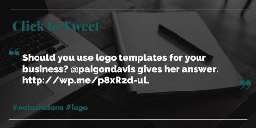 click to tweet logo templates