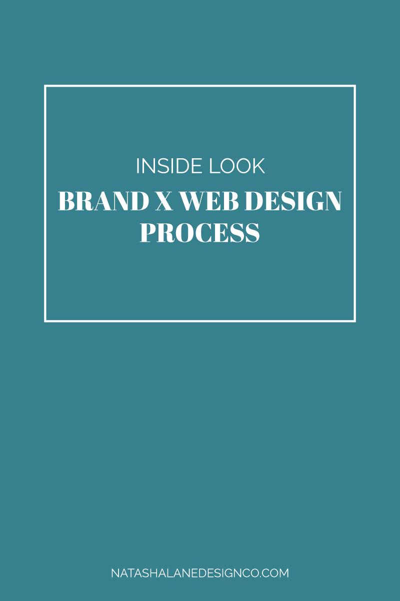 Brand x web design process