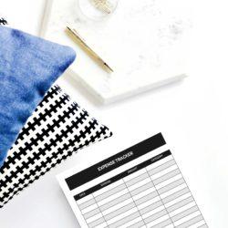 planner expense tracker