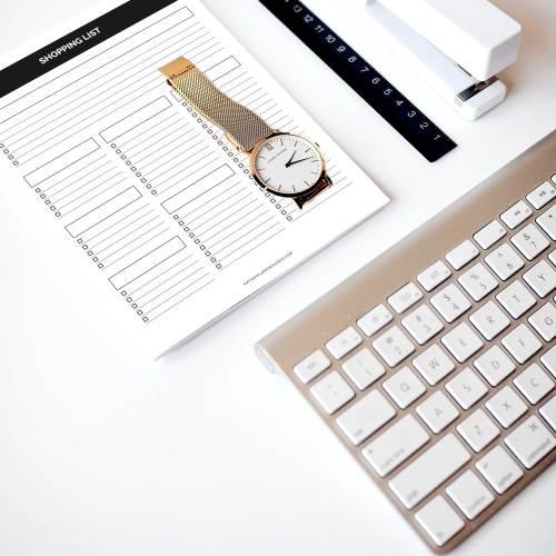planner shopping list