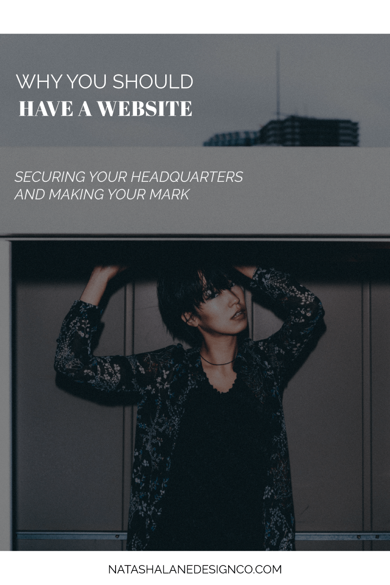 Why you should have a website