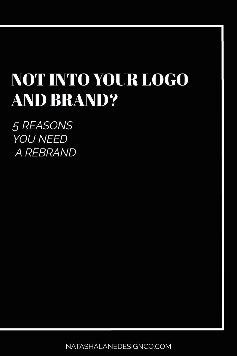 5 reasons you need a rebrand