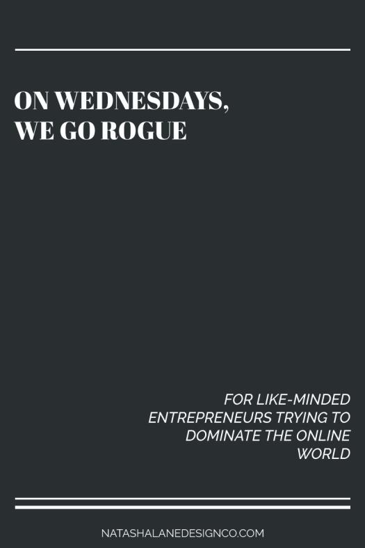 On Wednesdays We Go Rogue