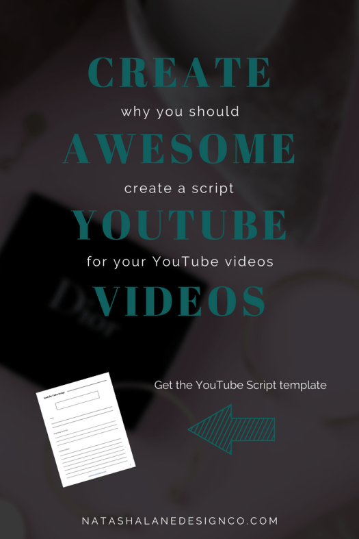Why you should create a script for your YouTube videos