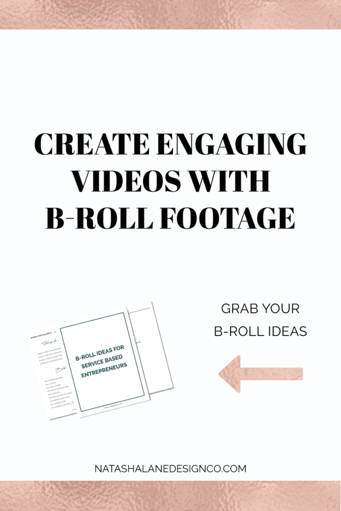 Create engaging videos with B Roll Footage