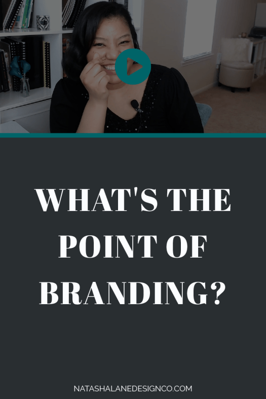 What's the point of branding?